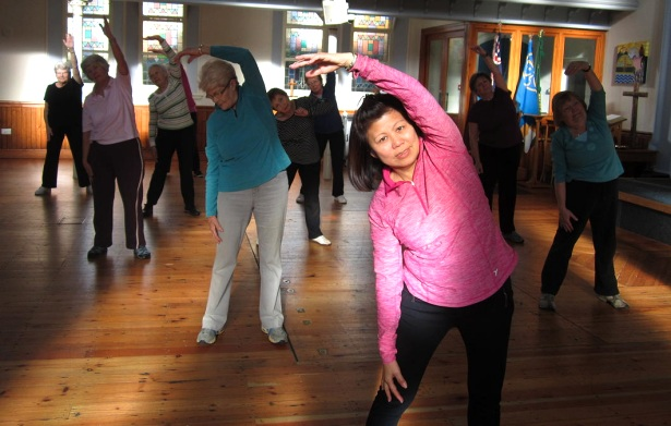 Saffron Walden, U3A, Keep Fit