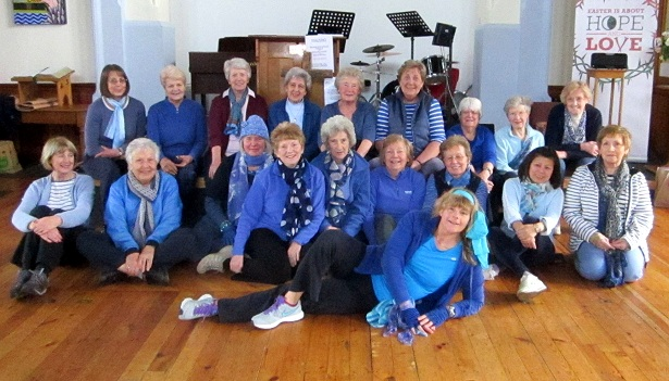 Saffron Walden U3A, Keep Fit, Blue Charity Week